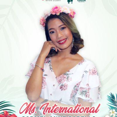 MS. INTERNATIONAL - CARMEL ANNE CABELLO