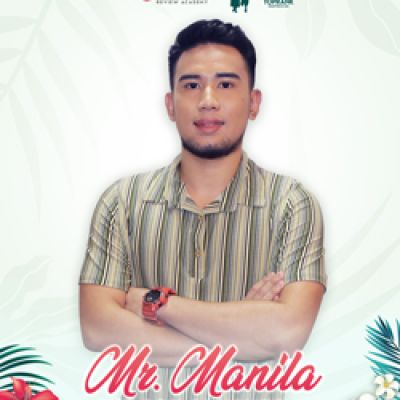 MR. MANILA - ELSON SANCHEZ