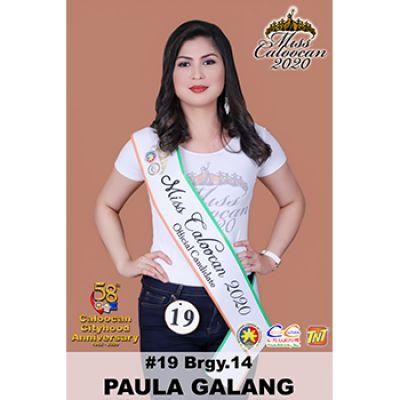 BRGY. 14 - PAULA GALANG