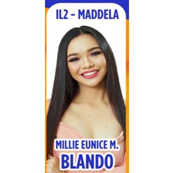 Ms. Maddela - Millie Eunice M. Blando