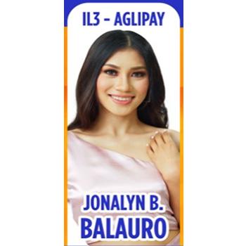 Ms. Aglipay Jonalyn B. Balauro