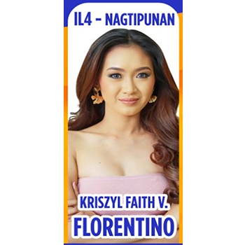 Ms. Nagtipunan - Kriszyl Faith V. Florentino